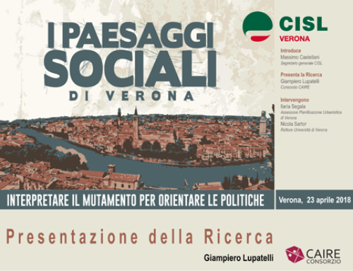 I Paesaggi Sociali di Verona 2018